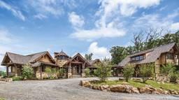 Check out Golf Pro Nick Faldo's West Viriginia Timber Frame