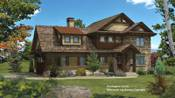 Timber Frame Hybrid Floor Plans