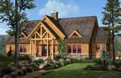 Traditional Timber Frame Floor Plans
